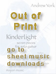 Andrew York Sheet Music Kinderlight