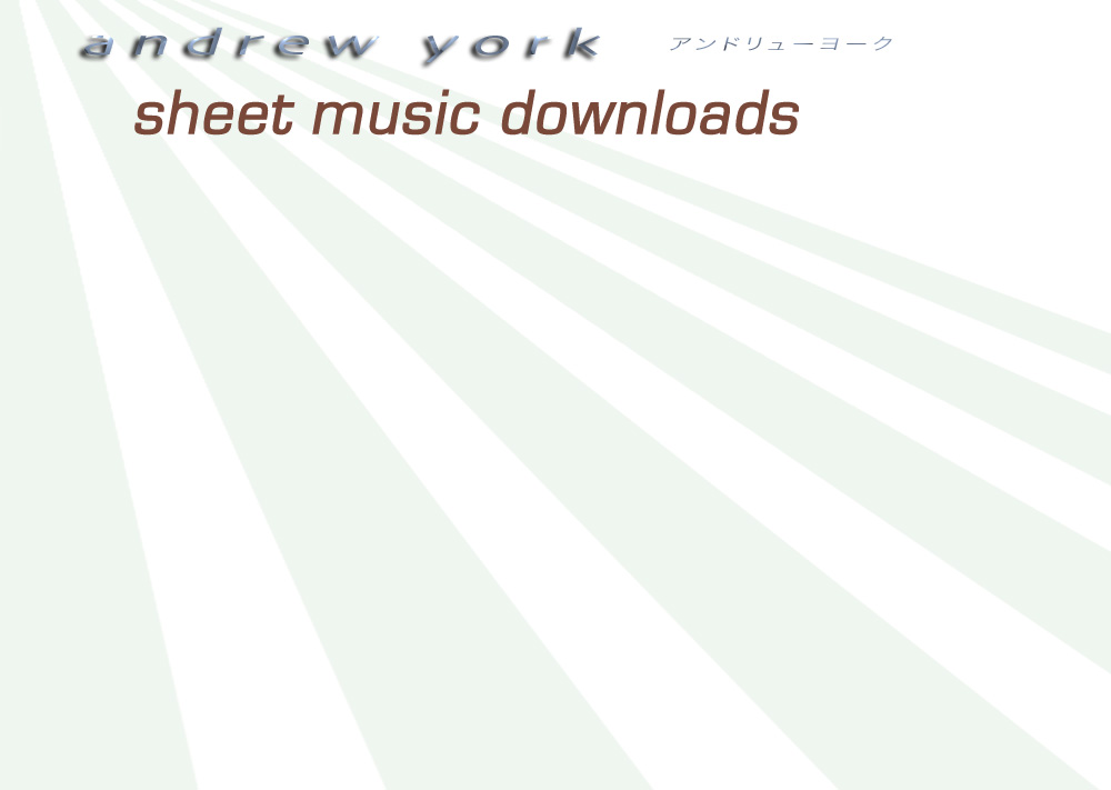 Andrew York - Sheet Music Downloads