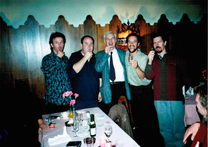 LAGQ-John Dearman, Bill Kanengiser, Scott Tennant and Andrew York, with Wolf Siegel