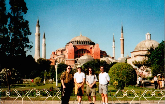 LAGQ-John Dearman, Bill Kanengiser, Scott Tennant and Andrew York, Istanbul