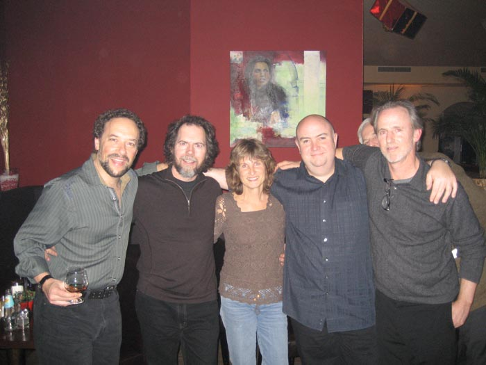 LAGQ-John Dearman, Bill Kanengiser, Scott Tennant and Andrew York, with Renate Weiss