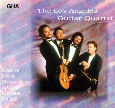 LAGQ-John Dearman, Bill Kanengiser, Scott Tennant and Andrew York, GHA CD