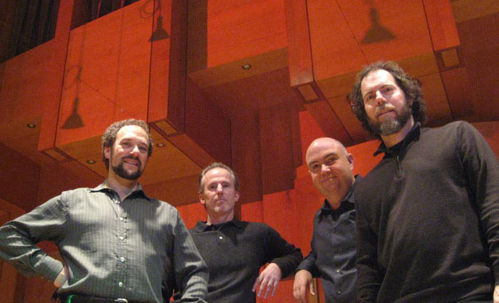 LAGQ-John Dearman, Bill Kanengiser, Scott Tennant and Andrew York, last concert in Munich