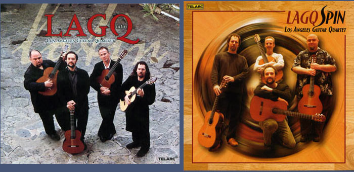 LAGQ-John Dearman, Bill Kanengiser, Scott Tennant and Andrew York, Telarc, LAGQ-Latin, Spin